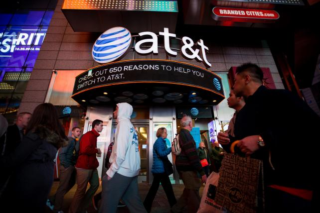 AT&T slumps as surprise subscriber loss follows Verizon gain