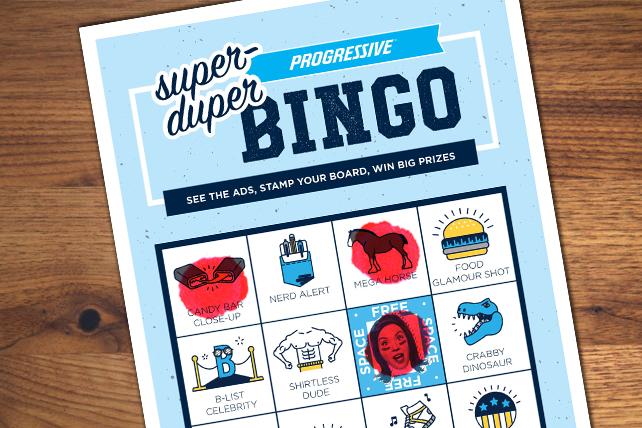 Bingo! Progressive Hosts Its Own Super Bowl Game
