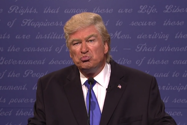 What's Worse for Trump? NYT Tax Bombshell? Or Alec Baldwin?