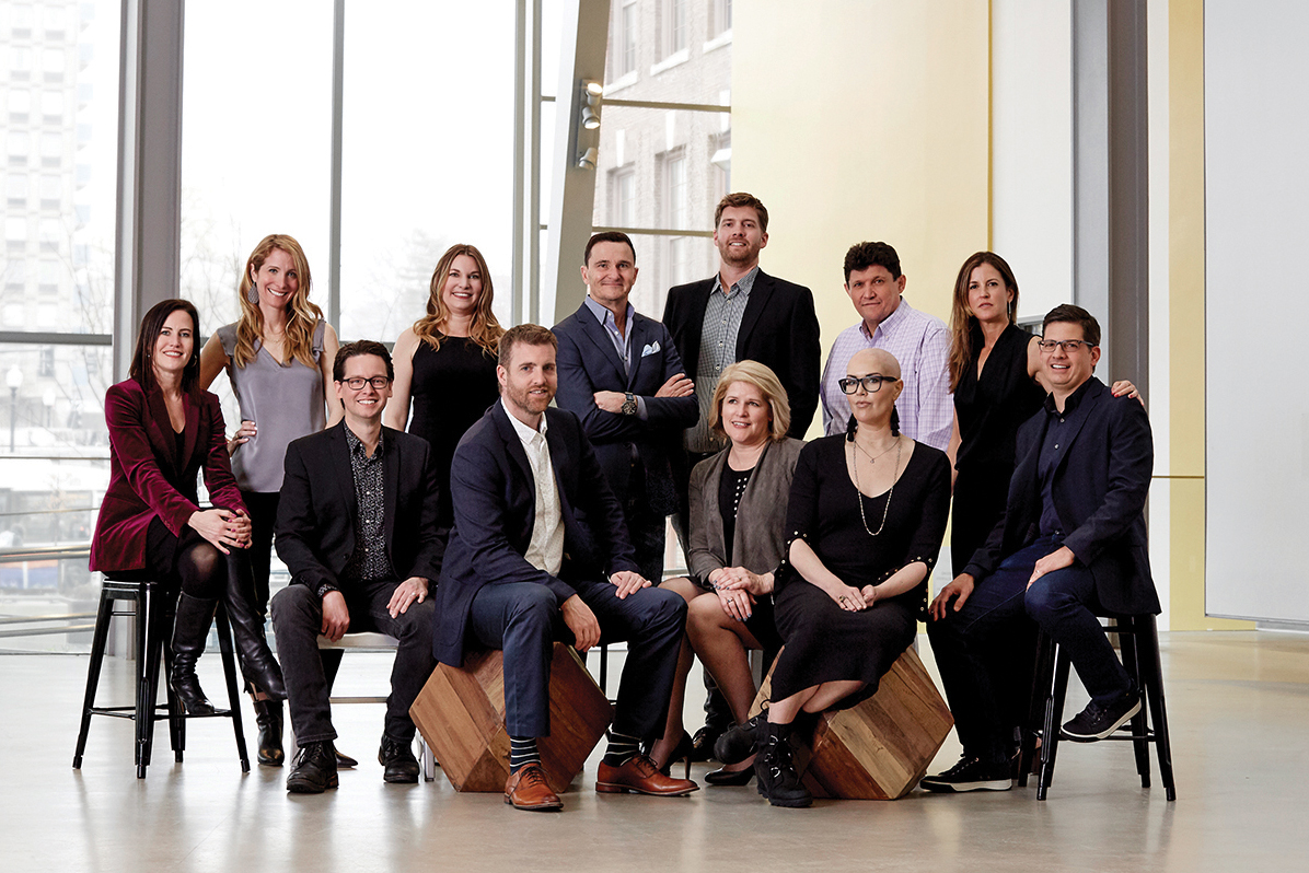 MullenLowe Mediahub team photo