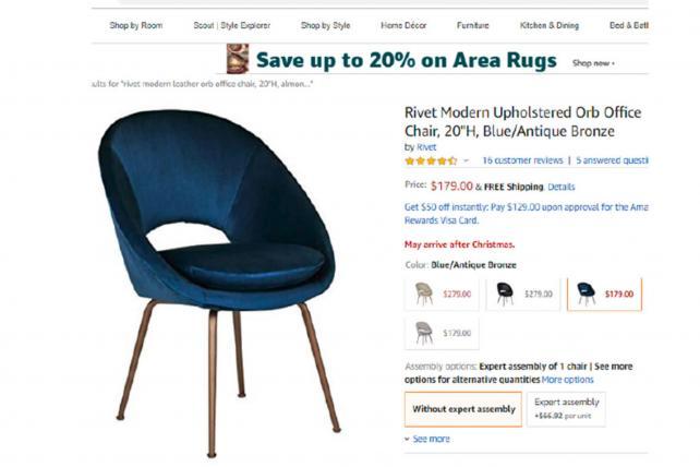 Williams-Sonoma accuses Amazon of copying its furniture