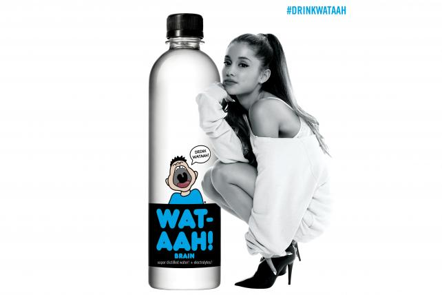 Ariana Grande Strikes Drink Deal -- Not With Coke or Pepsi