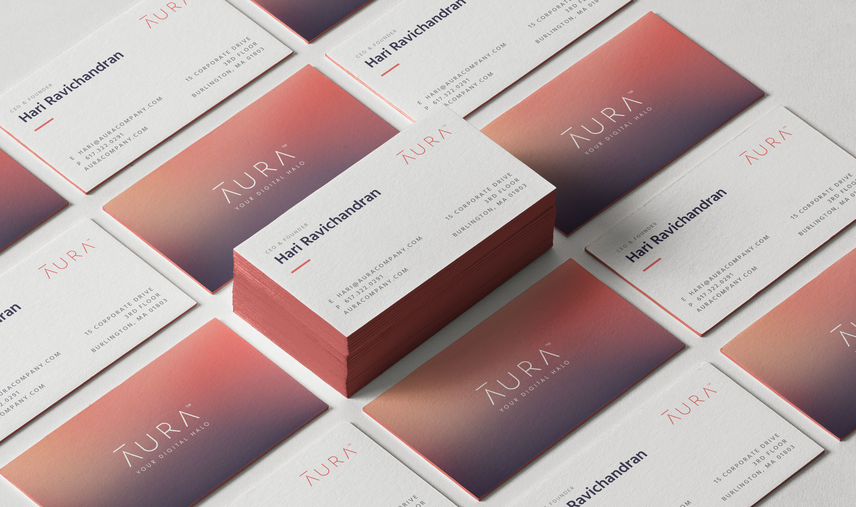 Aura: A more human cyber security brand