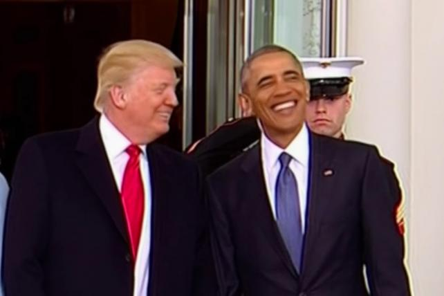 The Bad Lip Reading Video of Trump's Inauguration Has Arrived