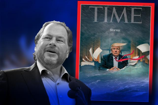Salesforce founder Marc Benioff buys buy Time Magazine