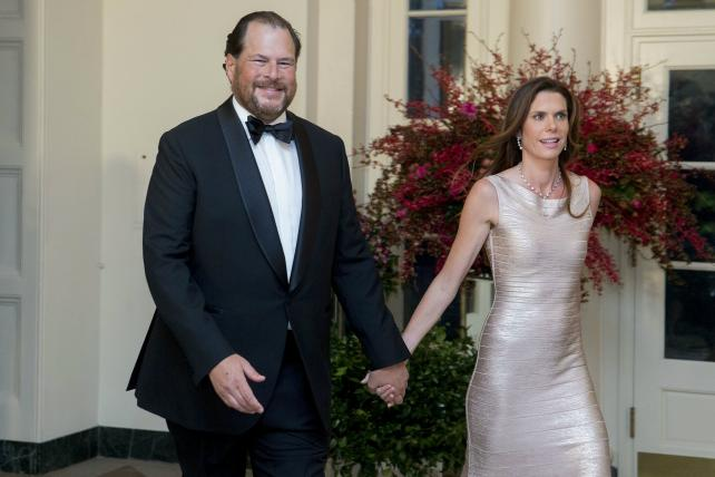 Wake-Up Call: Marc and Lynne Benioff are buying Time