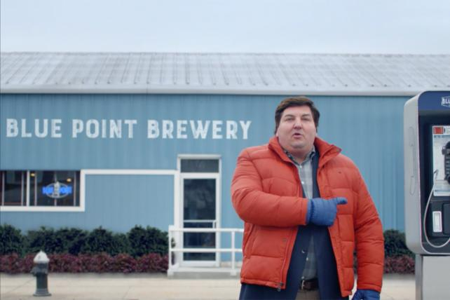 Blue Point Beer Ads Pay Homage to Long Island's Patchogue