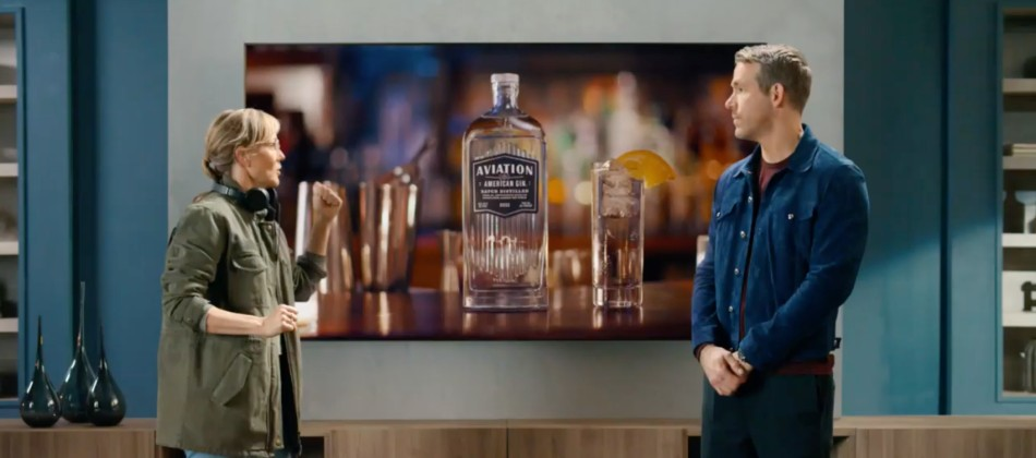 Ryan Reynolds' booze commercial inside a Netflix movie trailer inside a Samsung ad: Thursday Wake-Up Call
