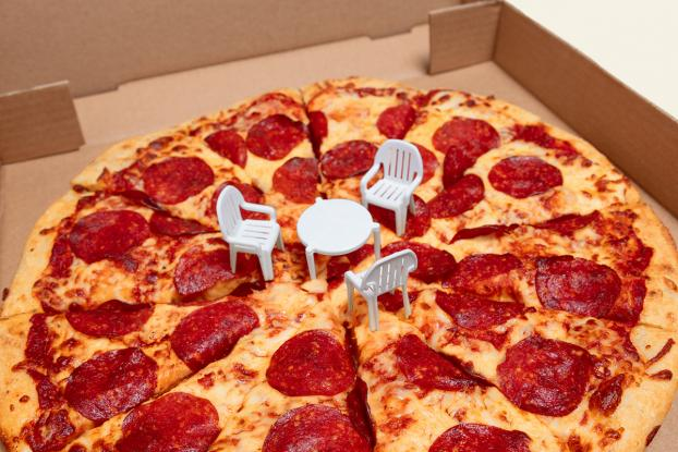 Boston Pizza Made Tiny Cute Patio Chairs To Go With Your