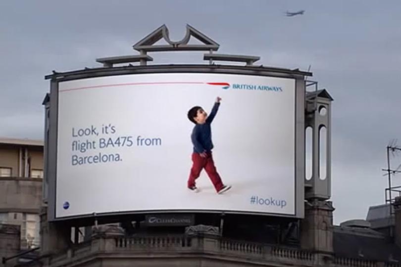 Look Up Billboards
