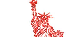Pushpin Art Campaign -- Statue of Liberty