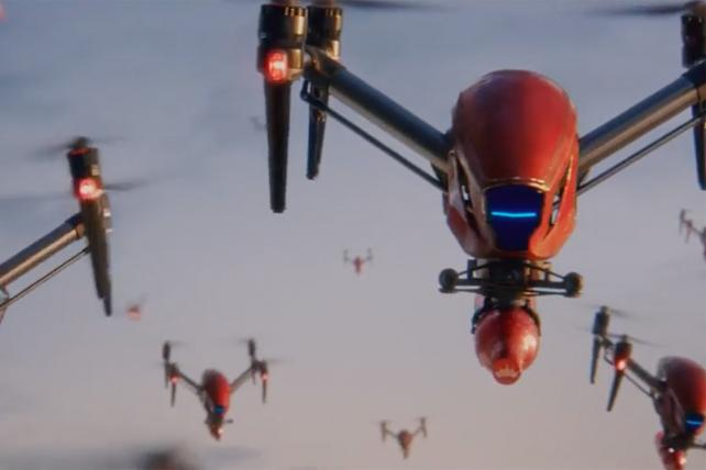 Budweiser's World Cup campaign is full of drones