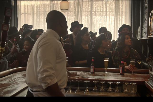 Spike Lee directs a Jackie Robinson ad for Budweiser