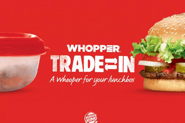 Burger King Israel: Whopper Trade-In - A Whopper For Your Lunchbox