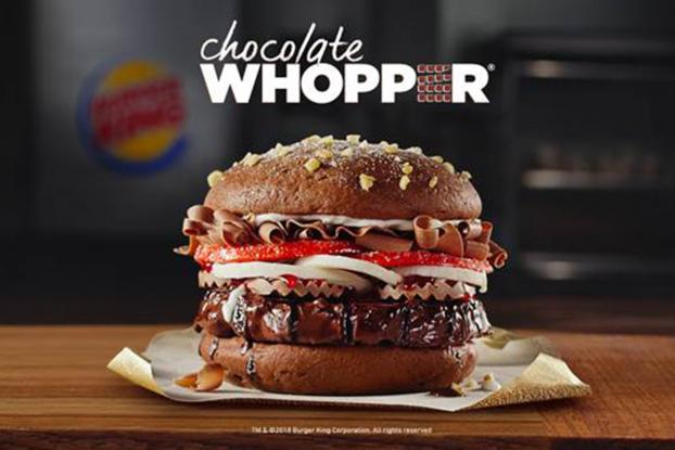 Burger King : Chocolate Whopper | Ad Age