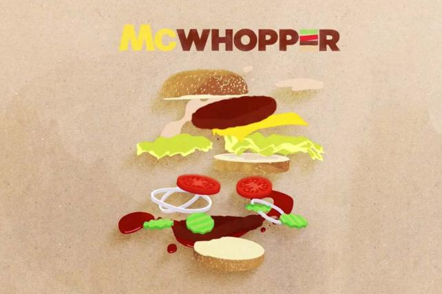 Burger King's 'McWhopper' Among Top Winners at D&AD Awards