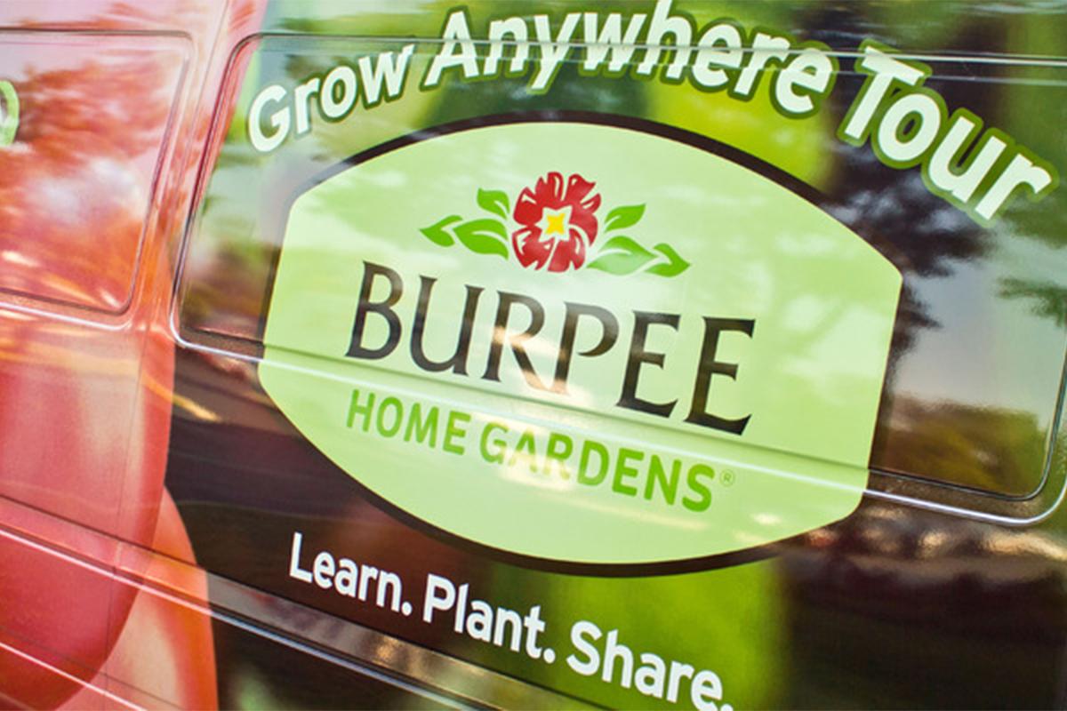 Burpee Home Gardens Grow Anywhere Tour