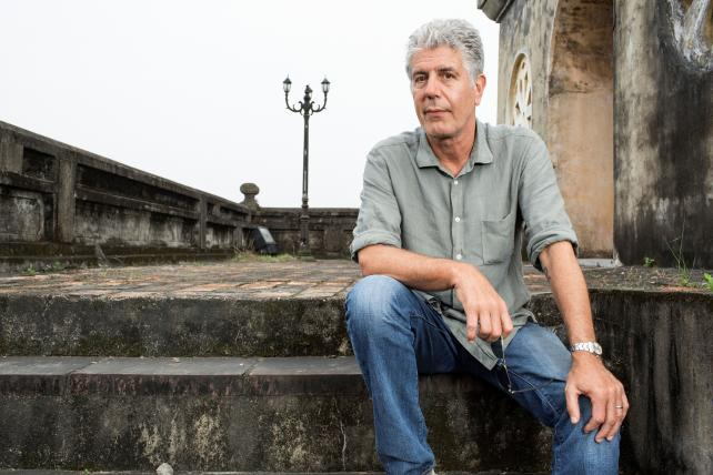 Anthony Bourdain Invested in This Website After Founder Sent Him a Drunken Email