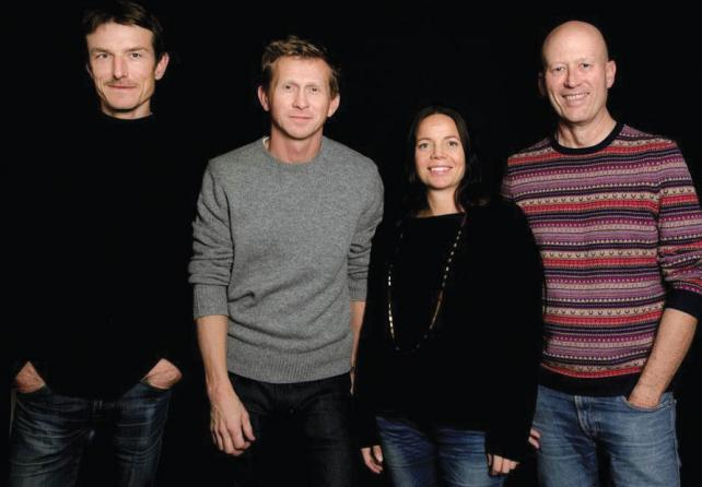 Creativity 50 2014: Anders Eklind, Martin Rinqvist, Sophia Lindholm and Björn Engström