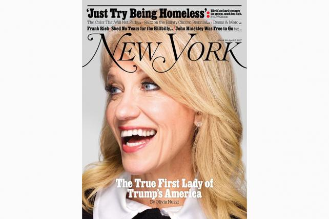 Kellyanne Conway Is 'The True First Lady of Trump's America,' Says New York Magazine