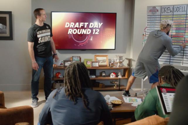 Campbell's Chunky Has NFL Stars Draft Everyday Guys