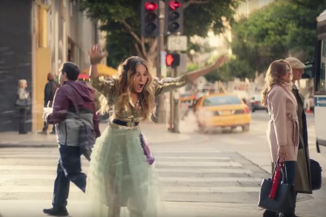 Kristin Chenoweth, Lil Jon and... Carrie Bradshaw?