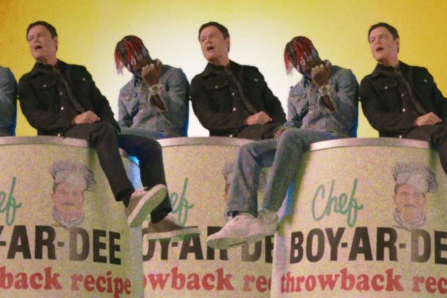 Lil Yachty and Donny Osmond sing praises of Chef Boyardee