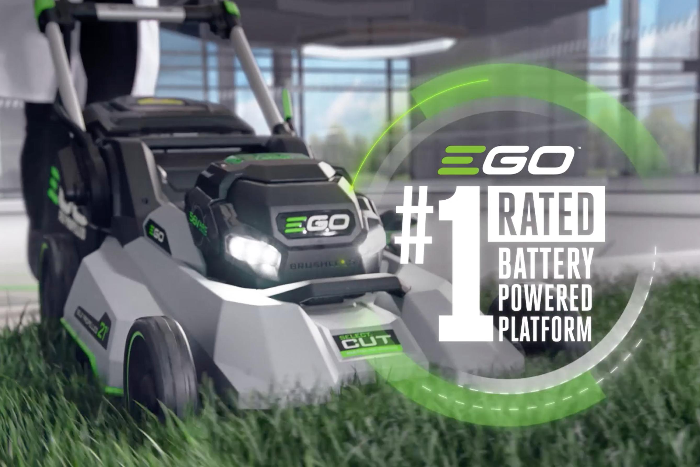Chervon: EGO POWER+ Self-Propelled Mower