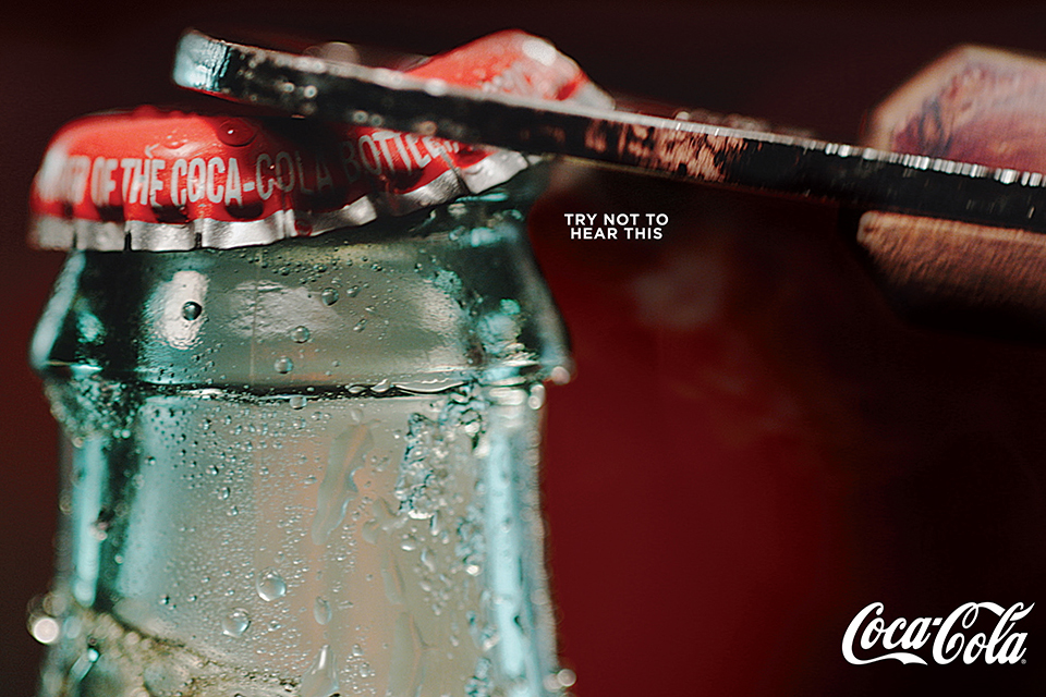 Hear the sounds of Coca-Cola in these print ads | AdAge