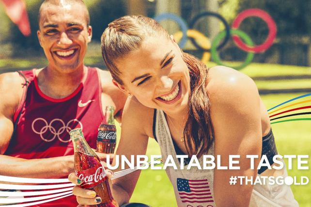 #ThatsGold: See Coke's Olympics Ads
