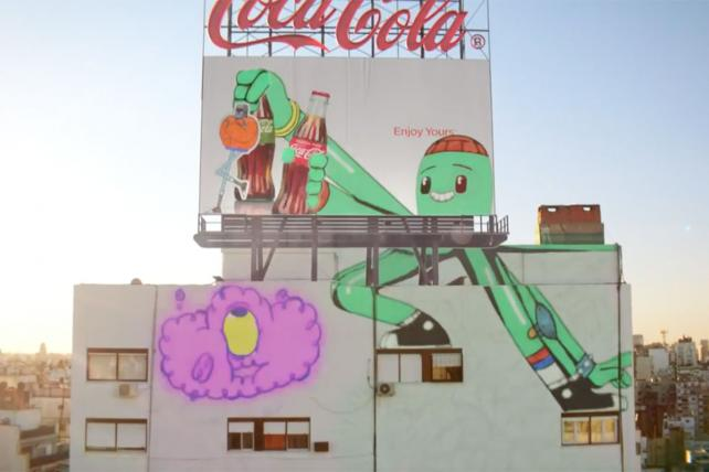 See Toyota's Six-Second Spots and Coke's Animated Mural