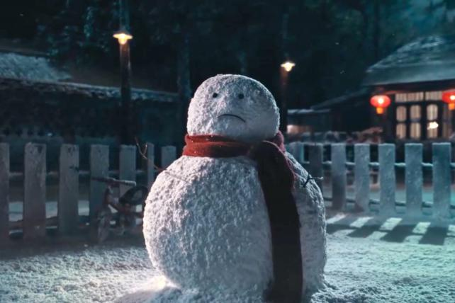 A Lonely Snowman Gets His Wish In Coca-Cola's Chinese New Year Ad