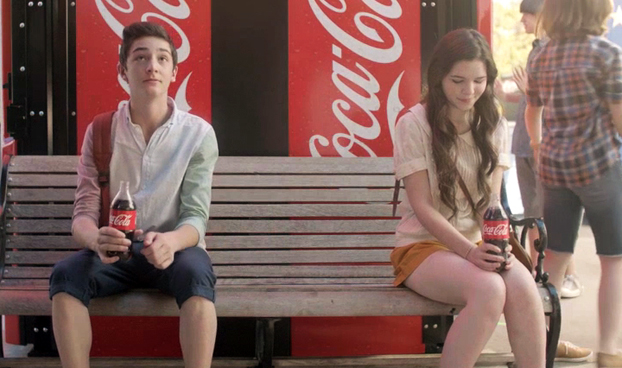 A Tale of Young Love, As Told With a Coke in Hand   AdAge