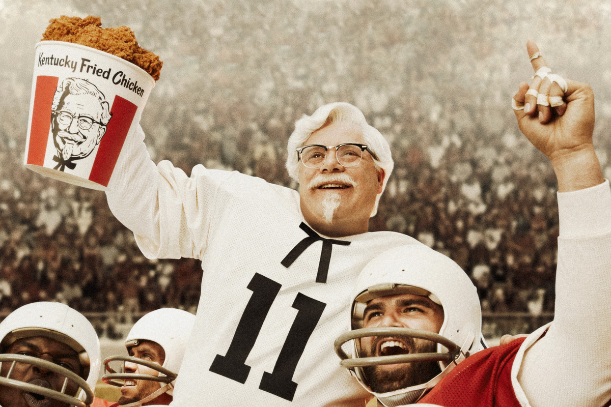 Sean Astin reprises his role as 'Rudy' for KFC.