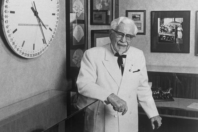 A Colonel Sanders Timeline, From Harland to Reba McEntire