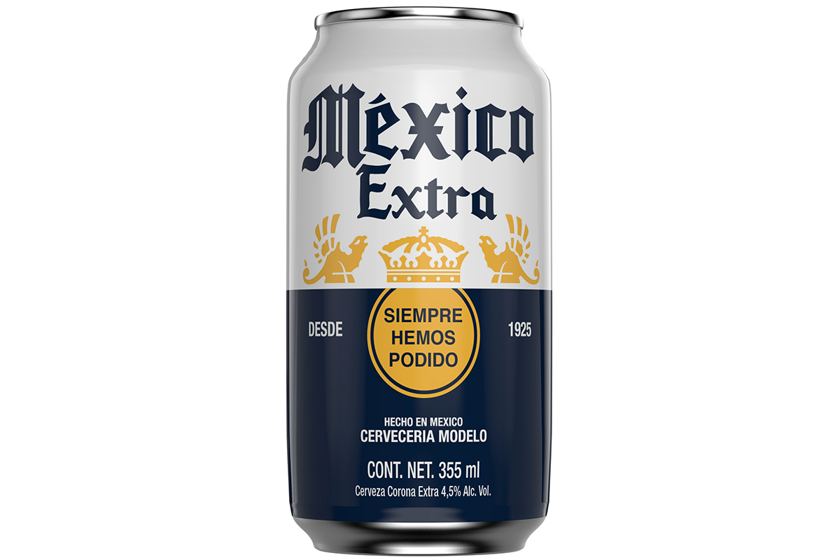 Mexico Extra Beer Can (print)