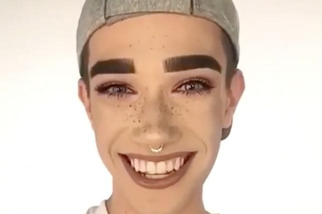 Teen Makeup Star James Charles Is the First Male CoverGirl