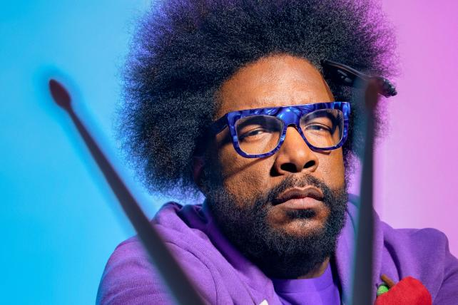 Give the drummer some: Questlove opens up about creativity