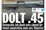 'Dolt .45': The Best Responses to Jeb Bush's Gun Tweet Misfire