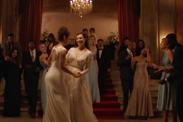 David's Bridal to show same-sex couple in first TV ad