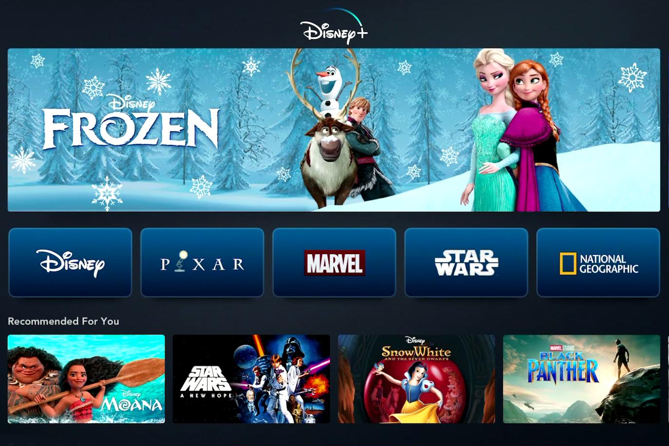 Walt Disney Co. unveils its new streaming service, Disney+