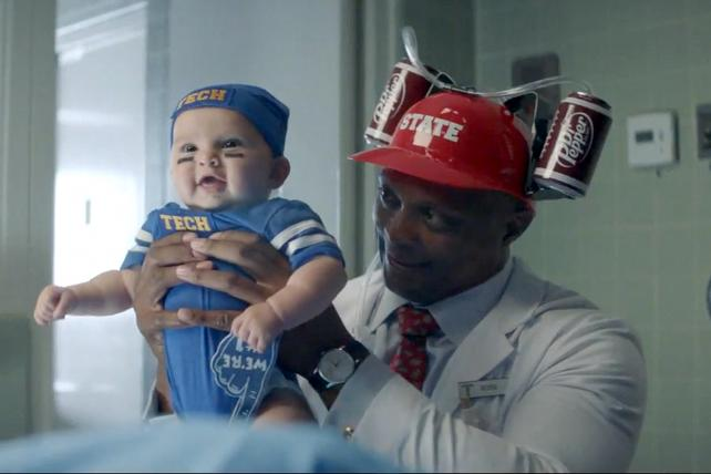 Dr Pepper's football campaign is filled with pigskin crazies