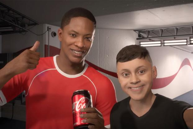 e2a206500 Best of 2017 Interactive Integrated--No. 8  Coke Inks Endorsement Deal With  EA Sports Video Game Character Alex Hunter