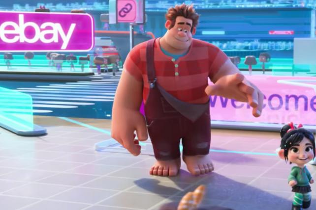 Wreck-It Ralph' gives eBay starring role--for free | Ad Age