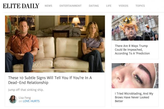 Why the Heck Did Bustle Buy Faded Millennial Publisher Elite Daily?