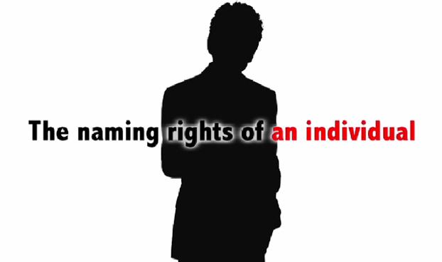 Human Naming Rights