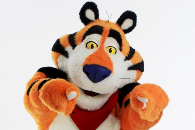 Dancing With the Stars ... and Stripes: The Secret Life of Tony the Tiger