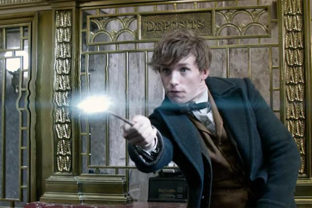 Harry Potter Leads Box Office With 'Fantastic Beasts'