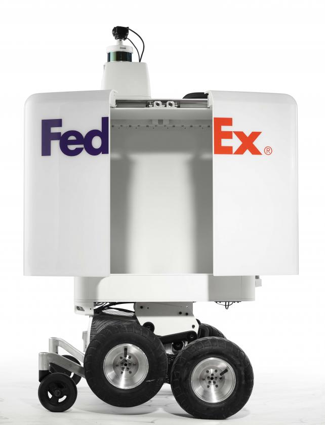 Pizza Hut, FedEx test delivery by robot: Marketer's Brief