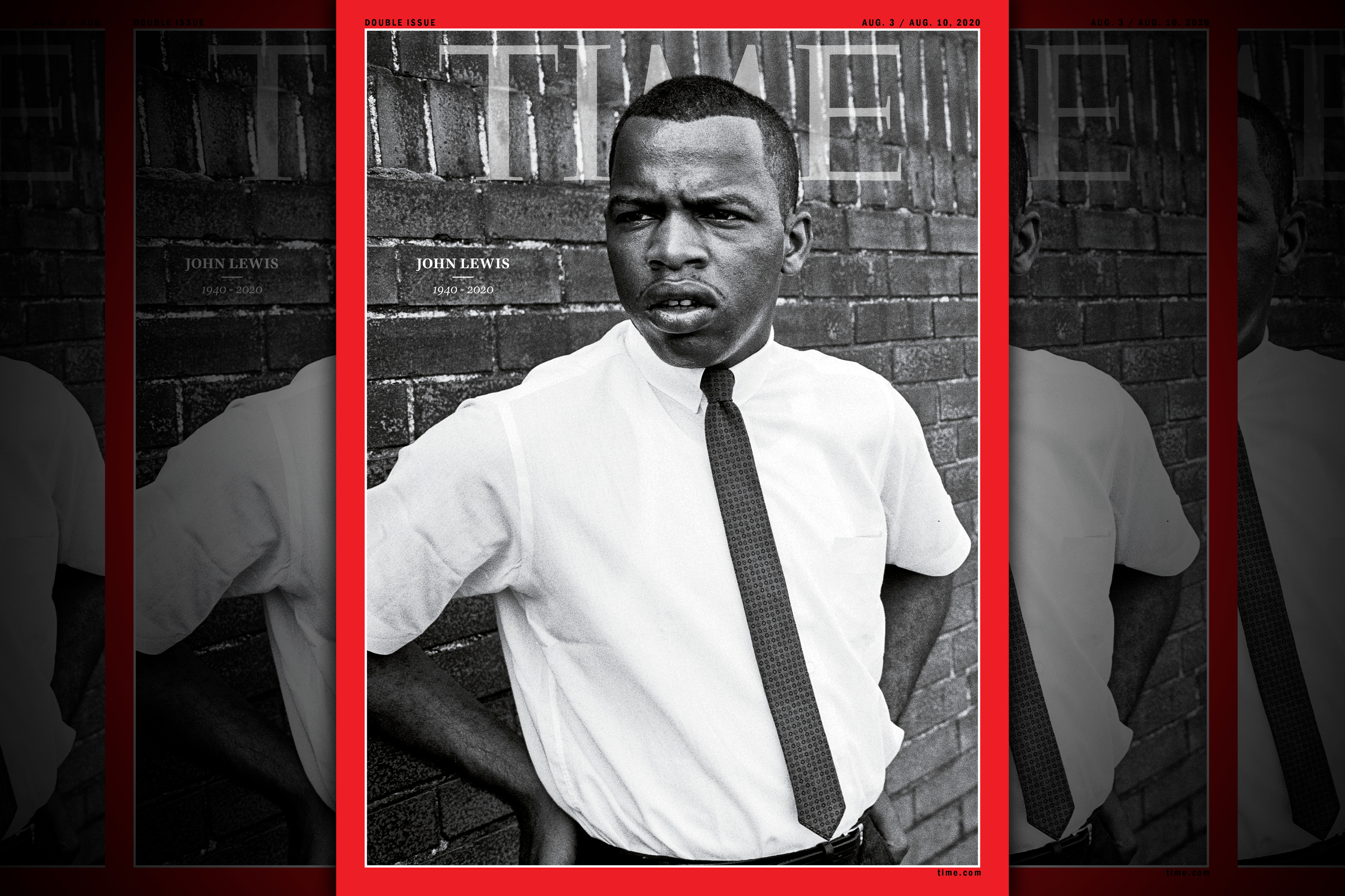 Time pays tribute to John LewisTime pays tribute to civil rights icon John Lewis